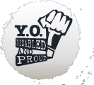 Logo of YO! Disabled and Proud